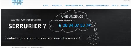 Serrurier le Havre - Agence Web le Havre