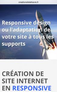 Création site le Havre - Responsive Design