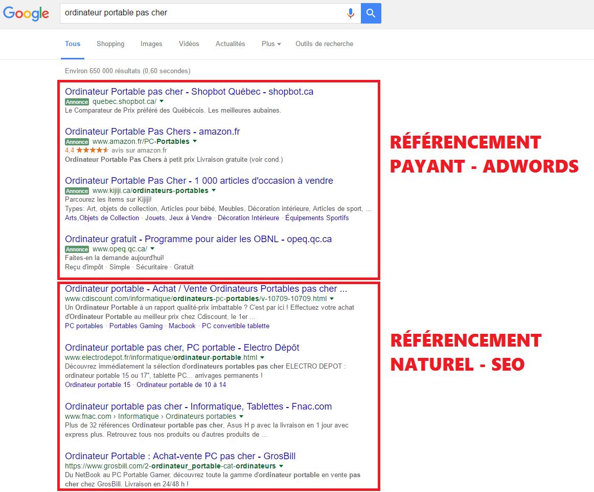 """Résultat de recherche d'images pour """"référencement naturel"""""""